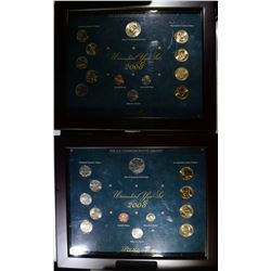 2 - 2008 UNCIRCULATED YEAR SETS
