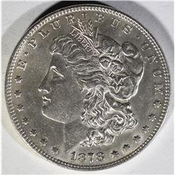 1878 7 TF MORGAN DOLLAR  BU