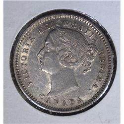 1888 10 CENTS CANADA  AU