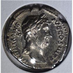 117-138AD SILVER DENARIUS