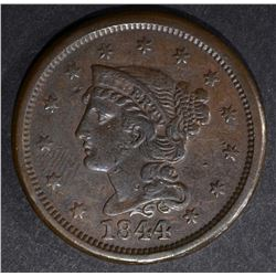1844 LARGE CENT VERY FINE