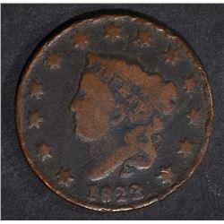 1823/2 LARGE CENT G/VG - ROUGH