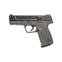 """S& W SD40 40SW 14RD 4"""" GRY FS 2MAGS"""