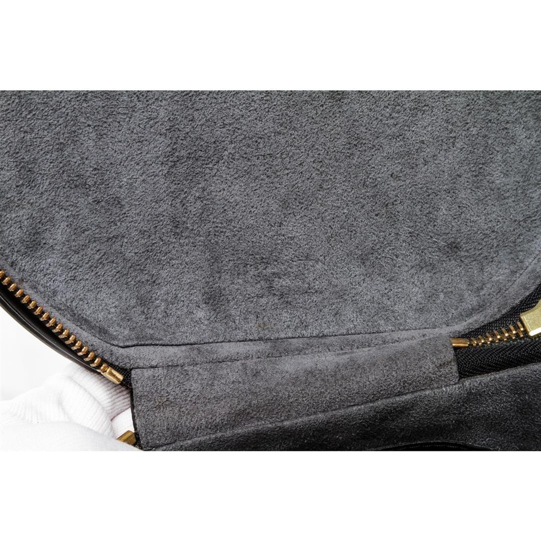 1dad7b618d26 Louis Vuitton Black Epi Leather Cannes Vanity Case