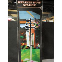 "New Weather Vane Station / 56"" high 5 function"