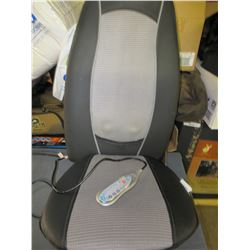 Massager Seat / Put on any Chair and has Remote with Assorted settings