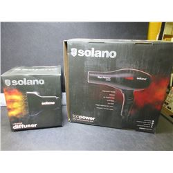 New Solano Top Power 3200 Pro Dryer & Diffuser / OVER $200.00 in store