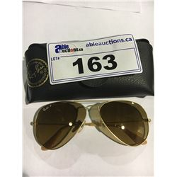 RAY-BAN DESIGNER SUNGLASSES WITH CASE