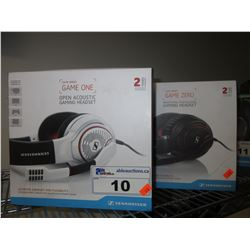 2 SENNHEISER GAME ONE GAME SERIES HEADSETS