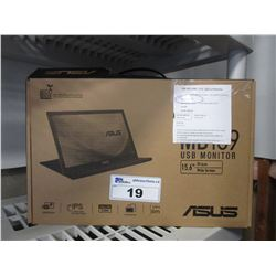 "ASUS MB169 USB 15.6"" MONITOR"