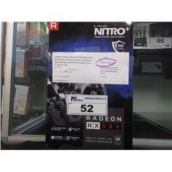 NITRO RADEON RX 580 SAPPHIRE SPECIAL EDITION VIDEO CARD