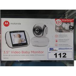 "MOTOROLA 3.5"" VIDEO BABY MONITOR MODEL MBP36S"