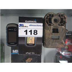 2 GARMIN ETREX 30X HANDHELD GPS SYSTEMS & STEALTHCAM