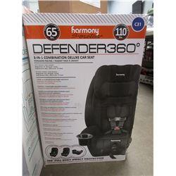 HARMONY SIGNATURE DEFENDER 360 3-IN-1 COMBINATION DELUXE CAR SEAT