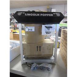 LINCOLN POPPER POP CORN MAKER