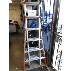 LITTLE GIANT EXTRA HEAVY DUTY TYPE IA MODEL 26 OSHA 300 - 25' LADDER