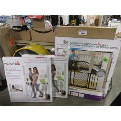 5 ASSORTED BABY/PET GATES