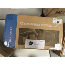 GRUNDFOS MQ3-45 / 1 HP PRESSURE BOOSTER 115V PUMP