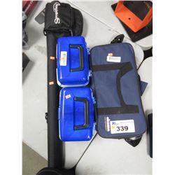 2 WORMGEAR TACKLE ASSORTMENT BOXES, SOUGAYILANG FLY FISHING ROD, OKUMA ROD & VOYAGER REEL