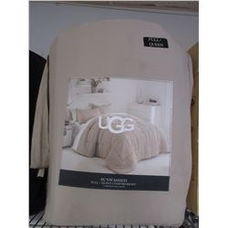 UGG FULL QUEEN SUNWASHED COMFORTER SET