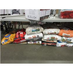 LARGE LOT OF ASSORTED DOG FOOD