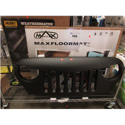 JEEP GRILL, HUSKY WEATHERBEATER & MAX LINER MAX FLOORMATS