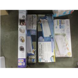 LOT OF 4 BABY BED RAILS