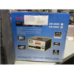 SIMRAN AR-5000 / 5000W HEAVY DUTY VOLTAGE REGULATOR/STABILIZER