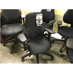 GLOBAL TRITEK ERGO SELECT BLACK MULTI LEVERED MID BACK TASK CHAIR