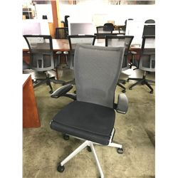 BLACK HAWORTH X99 FULLY ADJUSTABLE TASK CHAIR