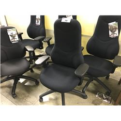 GLOBAL TRITEK ERGO SELECT BLACK MULTI LEVERED TASK CHAIR