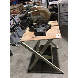 CRAFTSMAN PROFESSIONAL COMPOUND MITRE SAW WITH WORK TABLE