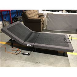 300 SERIES ADJUSTABLE EXTRA LONG SINGLE SIZE POWERED PLATFORM BASE WITH CORDLESS REMOTE