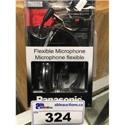 PANASONIC FLEXIBLE MICROPHONE HEADSET