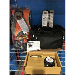 MADACO TUFF-SHOX FALL PROTECTION SAFETY HARNESS SET WITH LANYARD