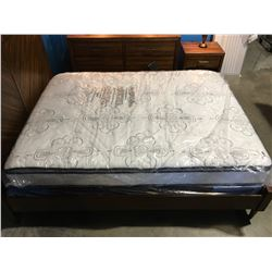 CHIME HYBRID QUEEN SIZE PILLOW TOP MATTRESS & BOX SPRING SET