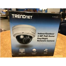 TRENDNET INDOOR/OUTDOOR 4MP DOME DAY/NIGHT NETWORK CAMERA