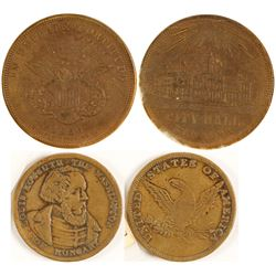 Gaming Counters (Gold Rush Era, 2 count)