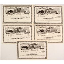 Buffalo Brewing Co. Stock Certificates