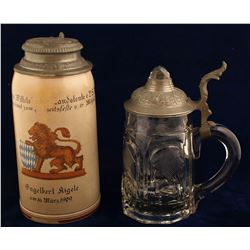Two Antique Steins