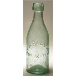 New Almaden Mineral Water