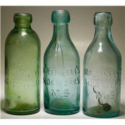 S. Martinelli  ( Soda Water ) (3  Items )