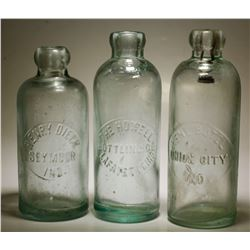 Henry Dieck / Rene Butel /  The Howell  Bottling Co.  ( Lot Of 3 )