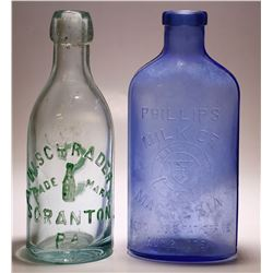 W. Schrader & Phillips Milk of Magnisia ( 2 Items ).