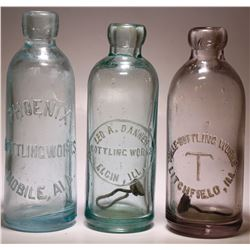Phonix, Leo A. Danner ,  &  Tolle Bottling Works ( 3 items )