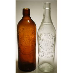 Globe Mills  & Duffy Malt Whiskey  ( 2 items )
