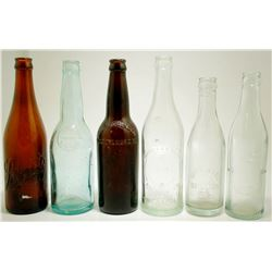 6 Eastern Brewing Bottles