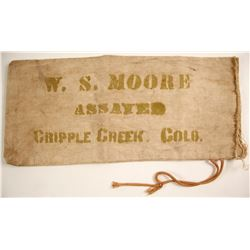 W.S. Moore Assayer Bank Bag