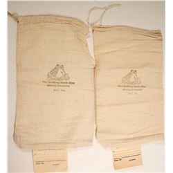 Bullfrog North Star Mining Company Sample Bags