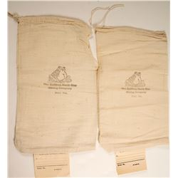 Bullfrog North Star Mining Company Sample Bags